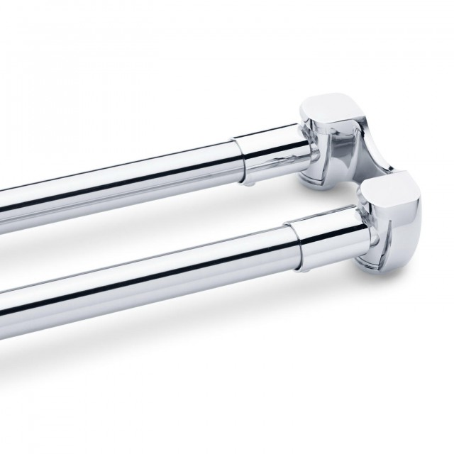 Shower Curtain Tension Rod Chrome