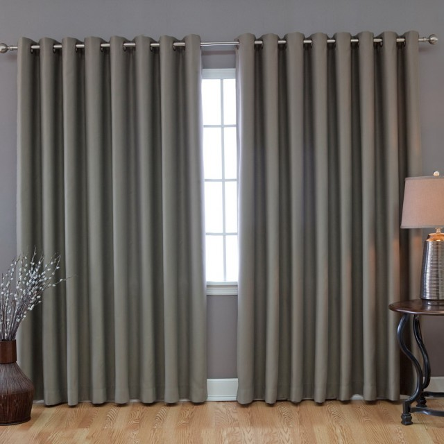 Sliding Glass Door Curtain Rod