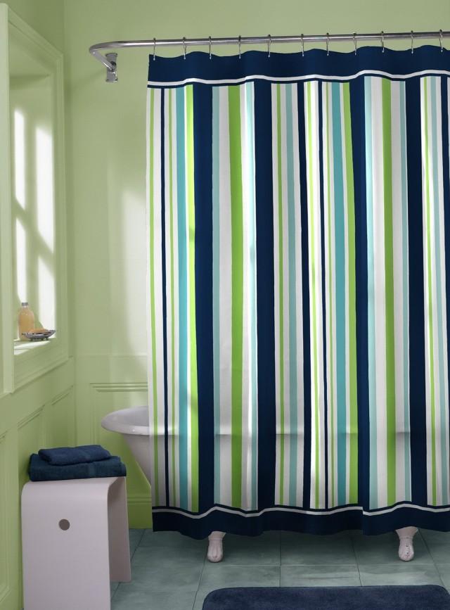 Standard Shower Curtain Height