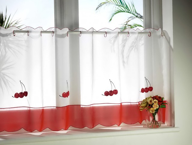 Cafe Style Curtains For Kitchens