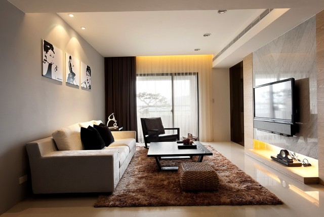 Modern Curtains Designs For Living Room
