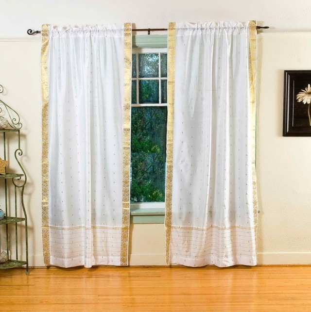 Sheer Curtain Valance Ideas