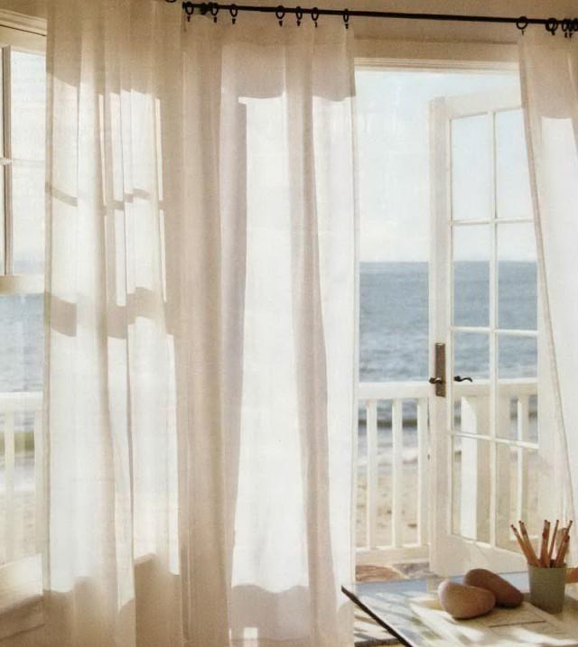 Sheer Window Curtains Ideas