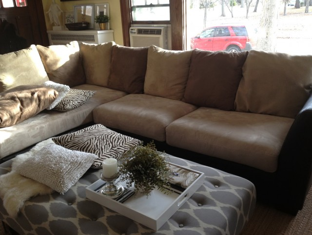 Sofa Without Back Cushions