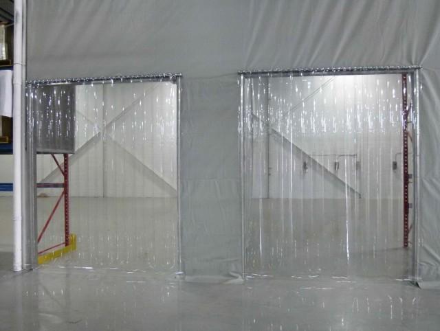 Clear Strip Curtain Door