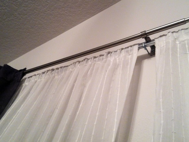 Ikea Double Curtain Rod Review
