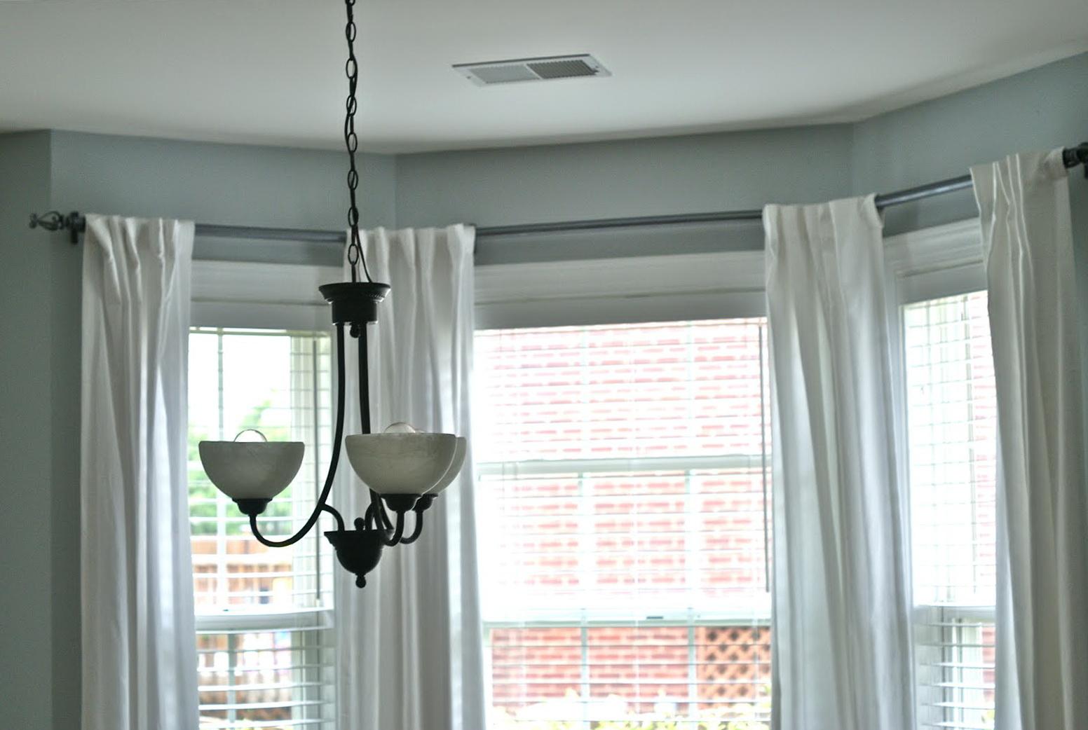 Window Curtain Rod Brackets