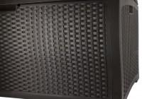 99 Gallon Suncast Deck Box With Seat