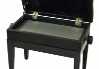 Adjustable Piano Bench With Storage