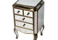 Antique Mirror Bedside Table