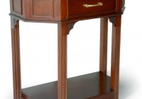 Antique Side Table With Drawer