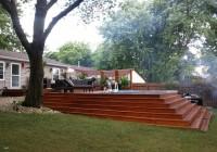 Backyard Decks With Pools