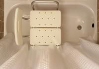 Bath Transfer Bench Shower Curtain
