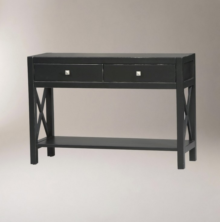 Permalink to Black Console Table Decor