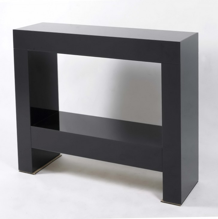 Permalink to Black Console Table Modern