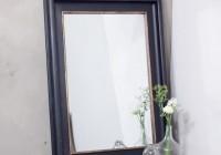 Black Framed Mirror Large