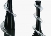 Black Glass Vases Wholesale