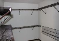 Black Wire Closet Storage Shelves