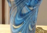 Blue Murano Glass Vase