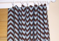 Brown And White Curtains Drapes
