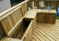 Build A Deck Bench Seat