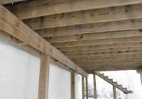 Building A Freestanding Deck Frame