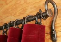 Cafe Curtain Rod Brackets