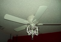Ceiling Fan With Chandelier