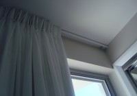 ceiling fixed curtain track