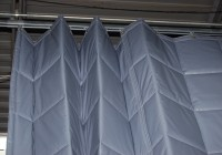 ceiling mounted curtain track system