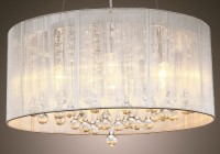 Chandelier Lamp Shades With Crystals