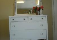 Childrens White Dresser With Mirror