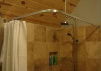 Clawfoot Tub Shower Curtain Rod Ceiling Mount
