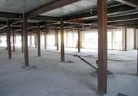 Corrugated Metal Decking Span