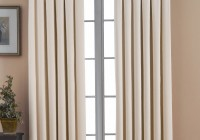 Cream Blackout Curtains Pencil Pleat