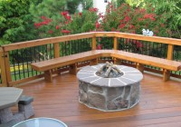 Deck With Fire Pit Ideas