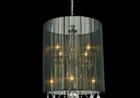 Drum Shade Chandeliers Pottery Barn