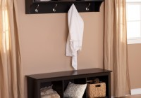 Entryway Shoe Storage Bench Coat Rack