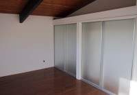 frosted bi fold closet doors