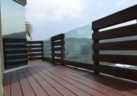 Glass Deck Railing Panels