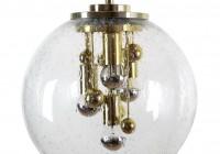 Glass Globe Pendant Chandelier