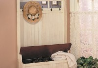 Hall Tree Bench Woodworking Plans