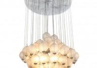 Hanging Glass Ball Chandelier