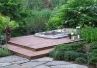 Hot Tub Decks Outdoor