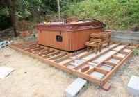 Hot Tub On Raised Deck
