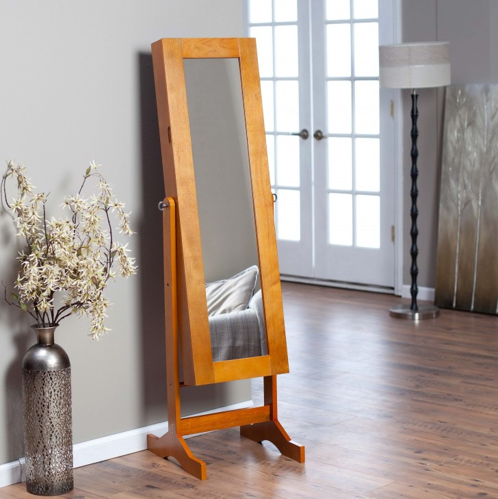 Permalink to Jewelry Armoire With Full Length Mirror