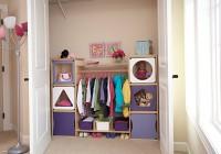 kids closet organizing ideas