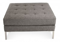 Large Square Tufted Ottoman