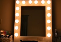 Lighted Vanity Mirror Wall