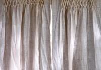 lined burlap curtains diy